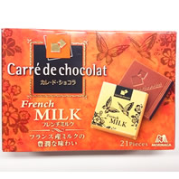 カレ・ド・ショコラ フレンチミルク