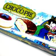 チョコパイ魔法のブルーベリーフロマージュ