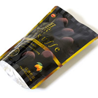 ブルボン 黒トリュフ生チョコレート