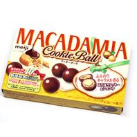 明治マカダミア クッキーボール