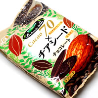 cacao70×チアシードチョコレート