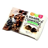 ヘルシースナッキング アーモンドと黒大豆のビターチョコ