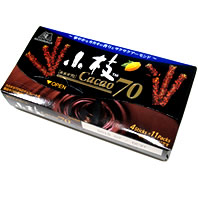 小枝カカオ70