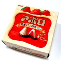 アポロ濃厚いちご&コクのホワイト