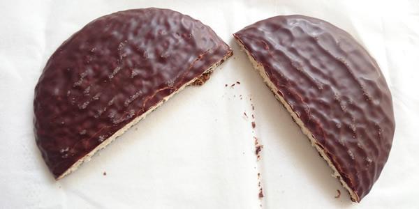 チョコケーキ中身