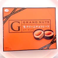 グランナッツ生クリームチョコレートカロリー・価格詳細情報