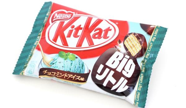 キットカットBigリトル チョコミントアイス味