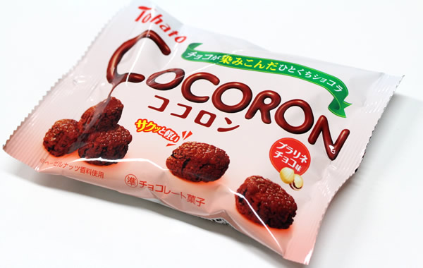 東ハト ココロン・プラリネチョコ味