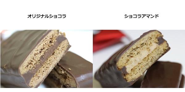 ショコラクレート・ショコラアマンド比較