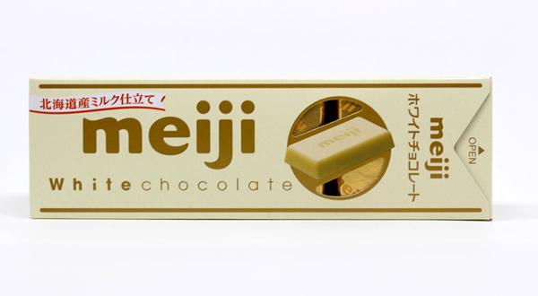 明治ホワイトチョコレート スリムパック