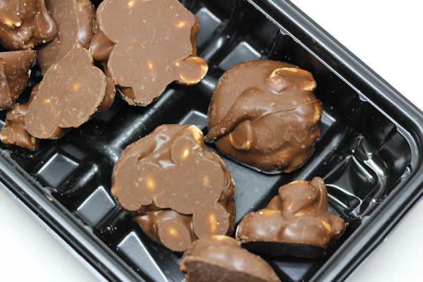 口どけなめらかなピーナッツチョコ
