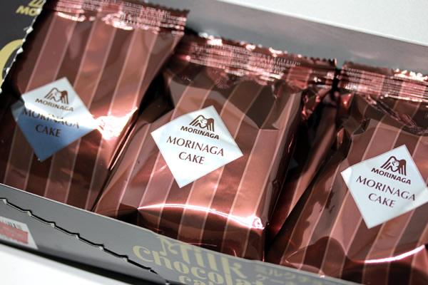 森永 ミルクチョコレートケーキ