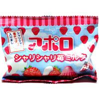 アポロ シャリシャリ苺ミルク