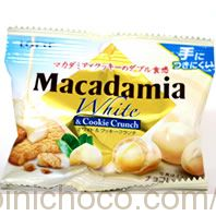 マカダミアチョコレート ホワイト&クッキークランチカロリー・価格詳細情報