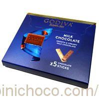 ゴディバミルクチョコレート5本カロリー・価格詳細情報