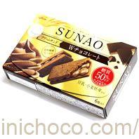 SUNAO(スナオ)クリームサンドダブルチョコレートカロリー・価格詳細情報